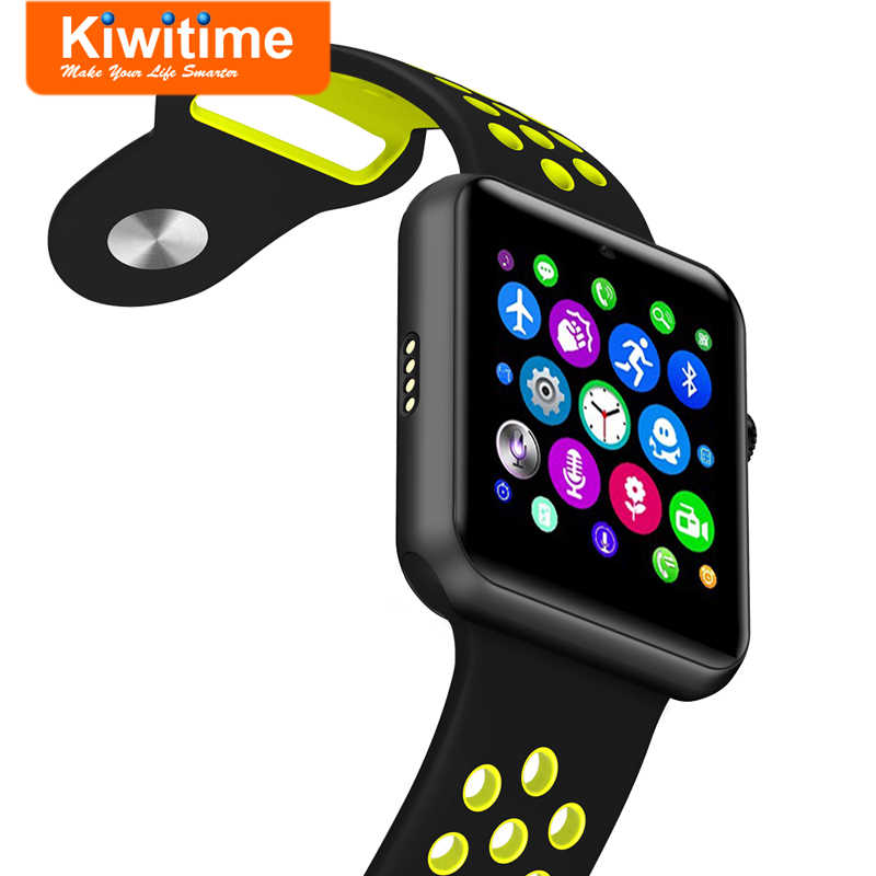 KIWITIME KT21 Smart Watch Connect With SIM Card Camera Bluetooth SmartWatch  for iPhone Huawei 2 Sony 3 Android Phone Apple Watch