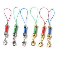 20pcs Lobster Clasp Lanyard Strap Cord mobile Phone Lariat Mobile Straps Charm Nylon Key Ring Chain Jewelry Craft DIY Jewelry