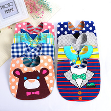 DreamShining Baby Bibs Soft Baby Feeding Apron Cute Fox Burp Cloths Newborn Bandana Children Clothing Accessories Bibs