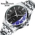 Top Luxury Brand Men Watch Waterproof Noctilucent Casual Man Watches Retro Relogio Masculino Luminous Steel Band Calendar Watch