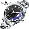 Top Luxury Brand Men Watch Waterproof Noctilucent Casual Man Watches Retro Relogio Masculino Luminous Steel Band Calendar Watch