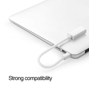 Image 3 - Mini DP to HDMI Adapter Cable DisplayPort Display Thunderbolt Port Male to HDMI Female Converter For Apple Mac Macbook Pro Air