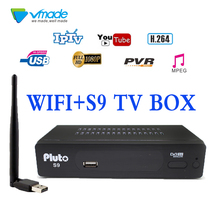 vmade spain South America DVB-S2 Satellite Receiver Digital TV Box Tuner DVB S2 Receptor Wifi Cline Biss Vu Youtube USB Capture цены онлайн