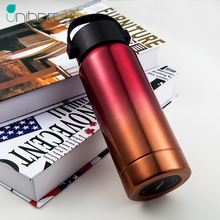 Unibott Double Wall Stainless Steel Vacuum Flasks Thermos Cup Coffee Tea Milk Travel Mug Thermo Bottle Portable Mention Strap