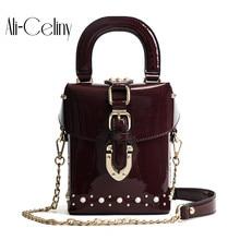 Известный бренд Алмазная коробка сумки Мини Куб бренд дизайн сумка через плечо для женщин сумки-мессенджеры