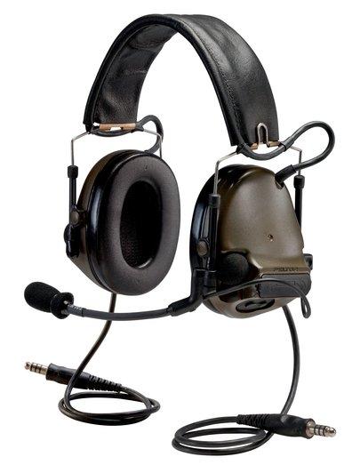 TAC-SKY COMTAC III Silicone earmuff daul version Noise reduction pickup headset -FGTAC-SKY COMTAC III Silicone earmuff daul version Noise reduction pickup headset -FG