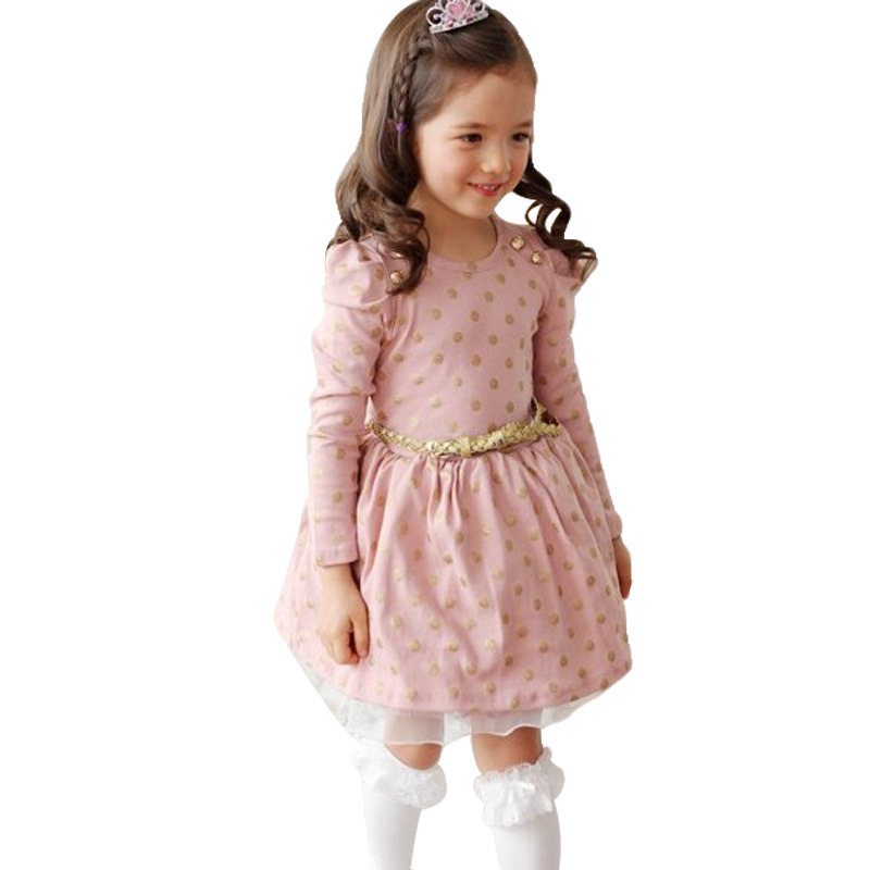 Buy spotted girls dress Online with Free Delivery