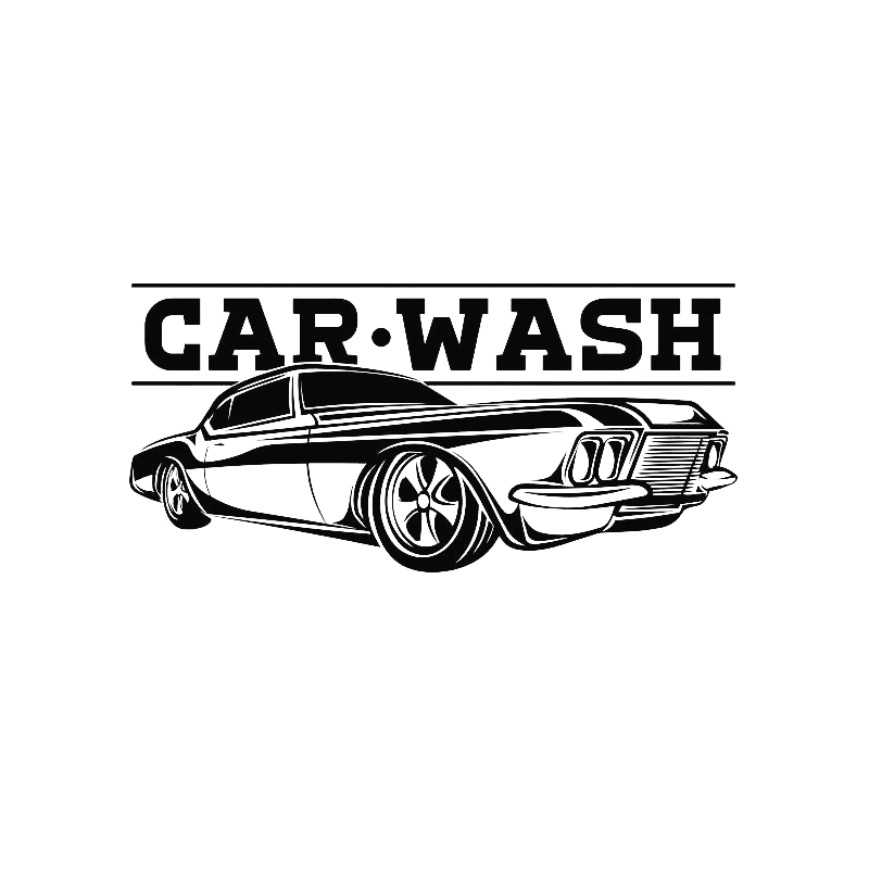 Car Wash Sign Wall Sticker Vehicle Auto Business Logo Vinyl Decal Repair Service Garage Decor Waterproof Wallpaper D499 ikea poang leather chair