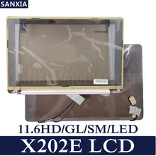 KEFU Laptop LCD Screen for ASUS X202E X202EP X202 X202E-3K LCD 11.6HD/GL/SM/LED стоимость