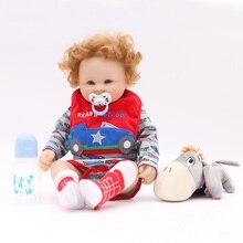 Otarddolls 20''50cm Silikon bebe rebron Baby Puppe boneca Reborn Babys Lebensechte mädchens spielzeug Für Kinder Weihnachten Geburtstag Geschenk