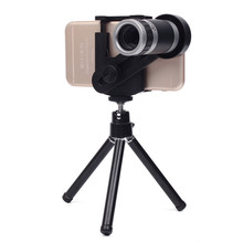 Cheaper Universal 8X Zoom Telescope Camera Telephoto Lens Phone Camera Lens For iPhone 5 5C 5S 6 Plus Android Mobile Phones Outdoor