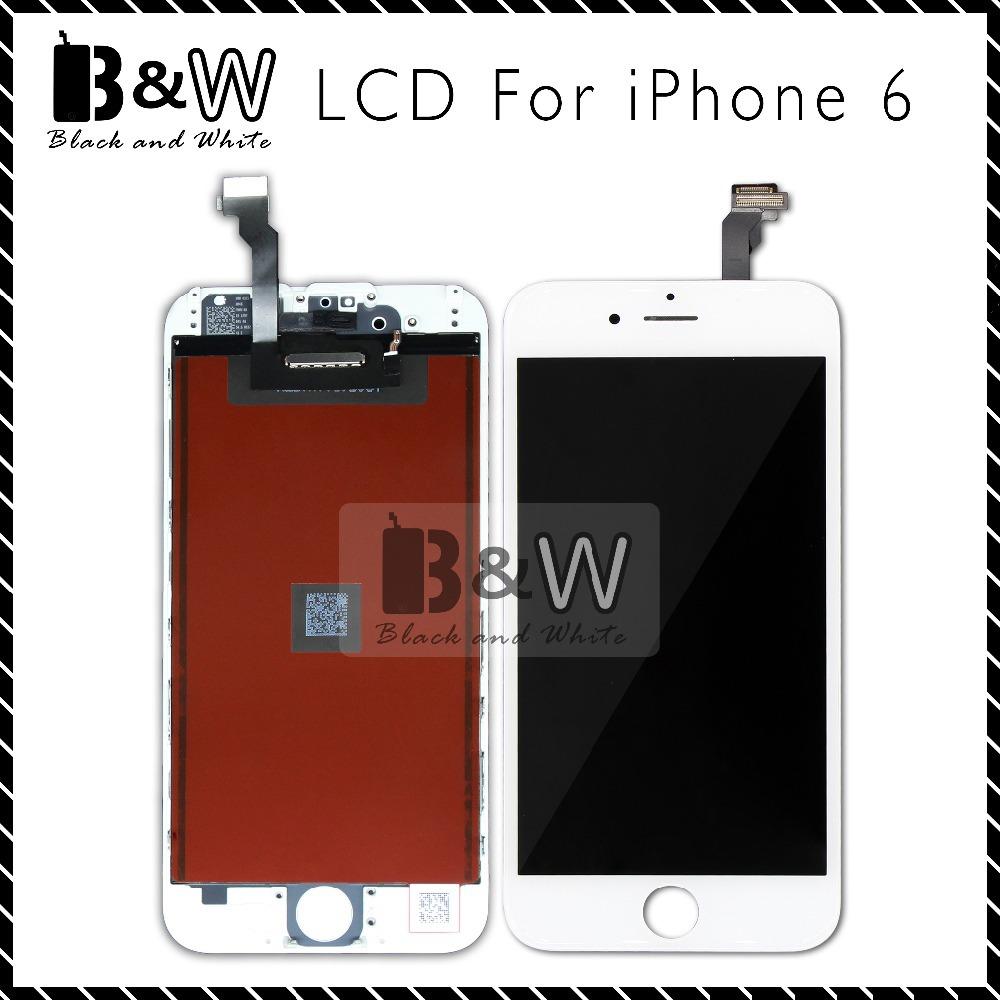 Prix pour Livraison DHL Gratuite Blanc Noir Pour iPhone 6 Tactile En Verre écran Digitizer & LCD Assemblée Remplacement Pixel Mort No Alibaba chine