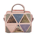 Fashion Bling Patchwork Tote Bags For Women Luxury Sac a Main Shoulder Bag Designer Clutch Famous Brand Handbags bolsas PP-426
