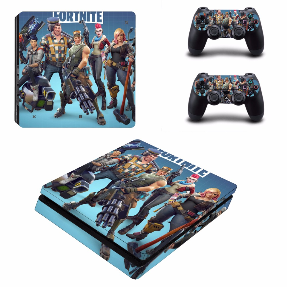 Juego Fortnite Battle Royale Ps4 Skin Skin Sticker Para Sony