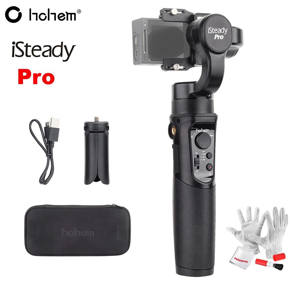 Hohem iSteady Pro 3-Axes De Poche Cardan Stabilisation Mouvement de Soutien APP avec 4000 mah Batterie pour GoPro Hero 6 /5/4/3 SJCAM RX0