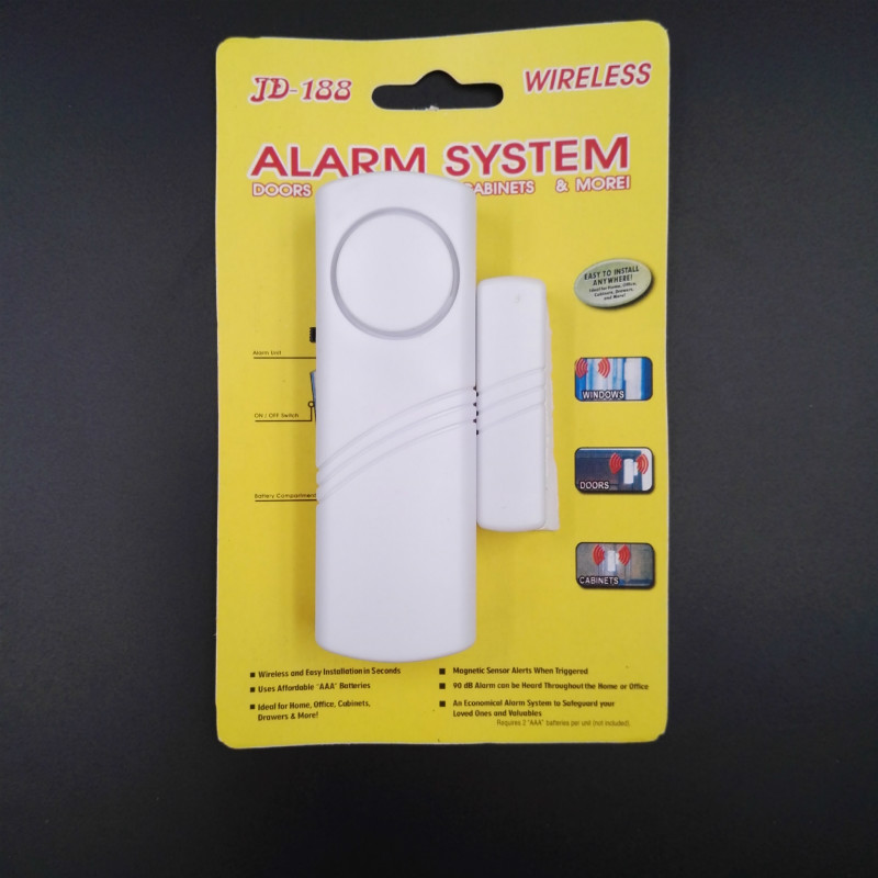New Longer Door Window Wireless Burglar Alarm System Safety Security Device Home(China)