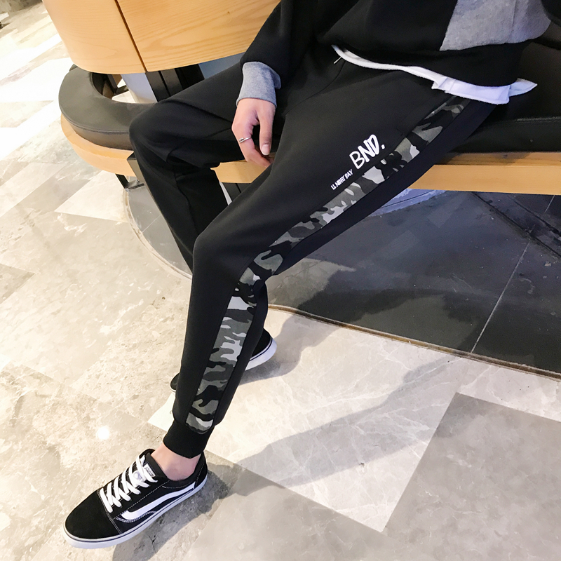 2018 The new listing In Will Part Pants joggers Recommend Hot Fashion Collocation sweatpants casual wild simple city boy