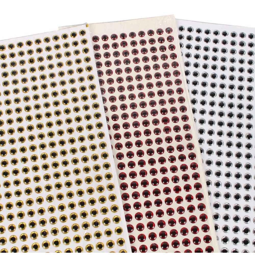 60/70/80 шт. 4/5/6 мм 3D похожая на настоящую голографическая Рыбалка глаза для приманки мушек приспособлений кукла-медвежонок инструменты приманки рыболовные принадлежности