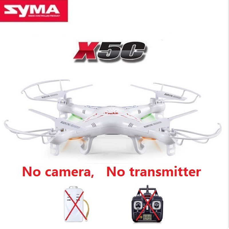 Original SYMA X5C RC Drone 2.4G 4CH 6-Axis RC Quadcopter Without Camera and Remote Control X5C RC Quadcopter Helicopter Drone syma x5 x5c x5c 1 explorers new version without camera transmitter bnf