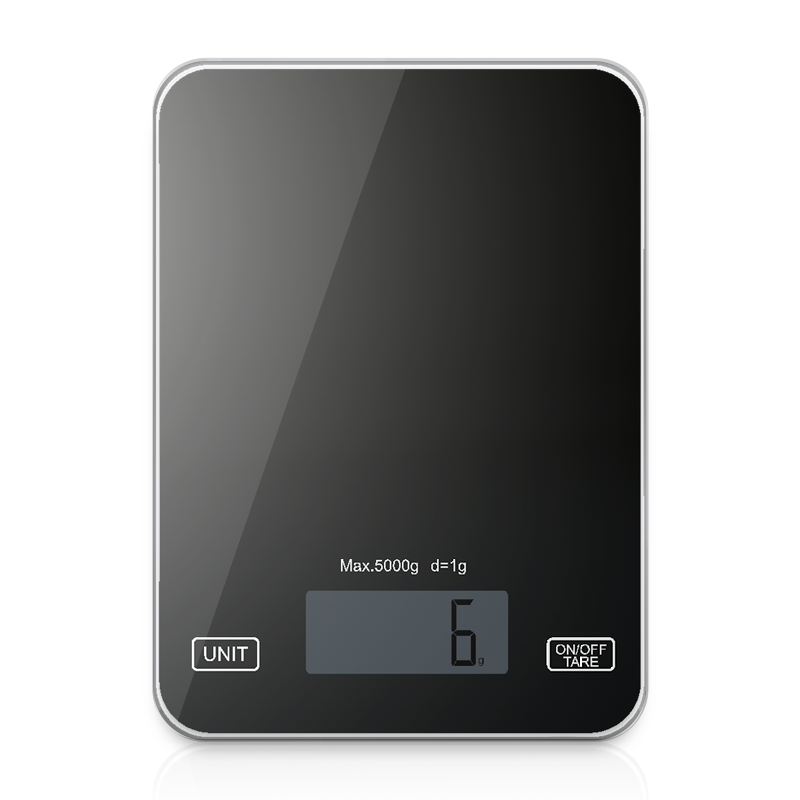Digital Kitchen Food Scale Ultra Slim Multifunction Easy Clean Large Display