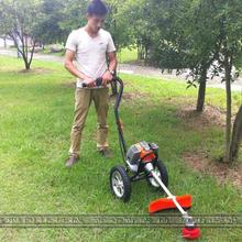 New hand-push two-stroke mower harvester 1.25KW 7000 / min 43CC
