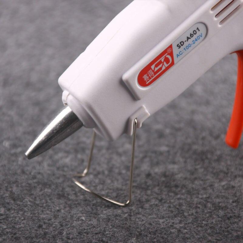 Small electric hot melt glue gun glass glue machine silicone strip hot melt stick gun 20W glue machine