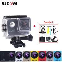 Оригинальный SJCAM SJ4000 Wi Fi NTK96655 2 12MP 30 м Водонепроницаемый Спорт действий Камера Sj 4000 WiFi Cam DVR с различные аксессуары