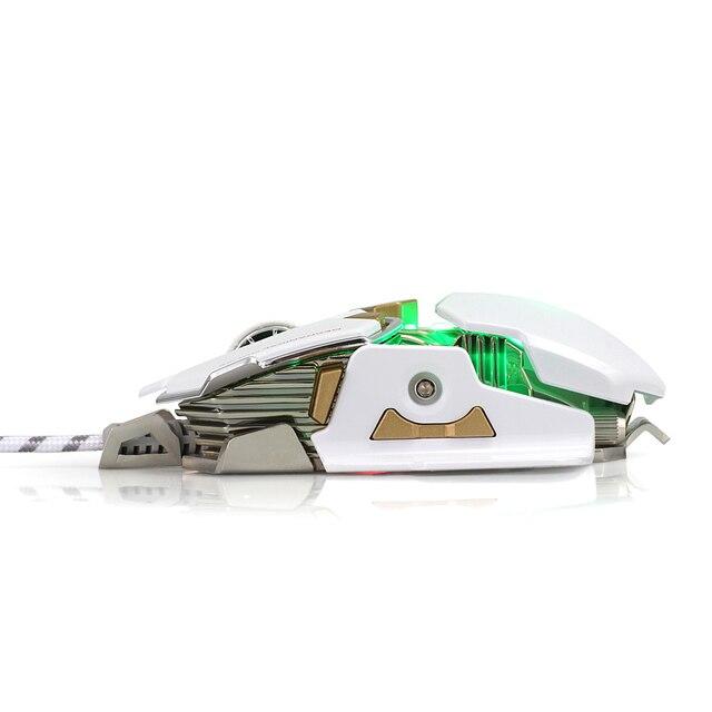LUOM G10 Filaire Gaming Mouse 9 Boutons 4 Couleurs Lumière 4000 réglable DPI Optique Gamer Souris souris d'ordinateur Parfait Pour LOL Gamer