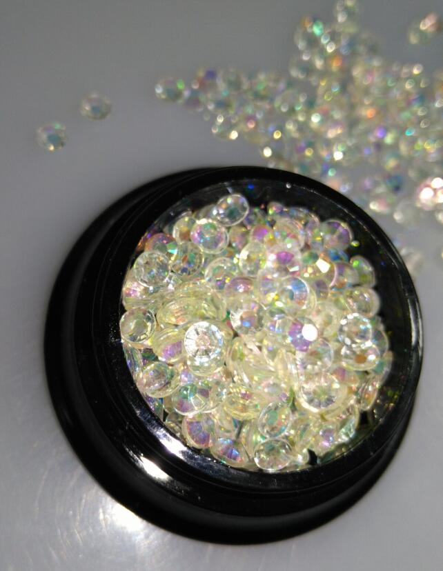 SS10 2.8-2.9mm  Crystal Clear AB Nail Rhinestones for nails,200pcs/jar Glitters Jelly Nail Stones,3d Nail Decorations Supplies 50 pcs set 3d nail art decorations glitters diy nail tools full rhinestones silver crown crystal nails studs1