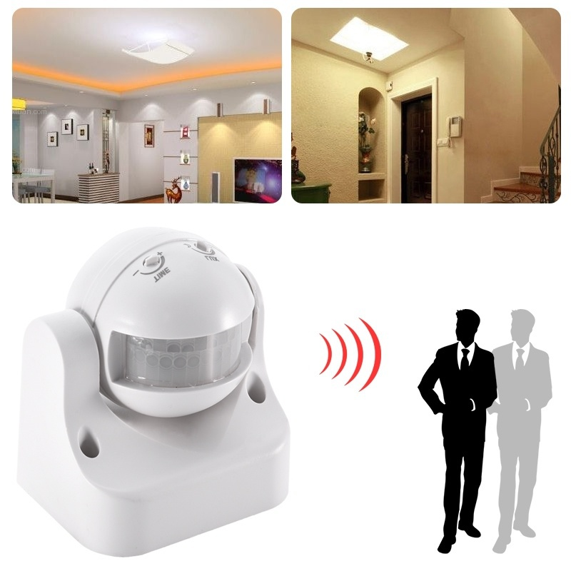 Wireless PIR motion sensor detector home house security Burglar AC 220V~240v adjustable sensor switch xsav11801 inductive proximity switch speed sensor motion rotate detector 0 10mm dc ac 24 240v 2 wire 30mm replace telemecanique