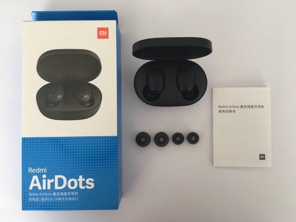 In Stock Original Xiaomi MI Redmi AirDots TWS Wireless Bluetooth Earphone Stereo Bluetooth 5.0 Mini Headset With Mic Earbuds (4)