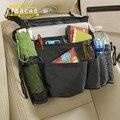 50 pcs Nova Estiva Tidying Multi-Bolso Do Assento de Carro Saco De Armazenamento Organizador Titular Cabide De Viagem Preto Acessórios Interiores Do Carro EA1322