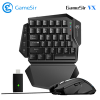GameSir VX AimSwitch Wireless Gamepad Keyboard Mouse Combo for PFS Games One Combo for PS4/PS3/Xbox One/Switch for Playstation 4