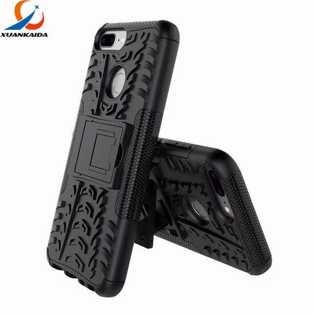 Rugged Skin Case For Huawei Y9 Y6 Y7 Prime 2018 Honor 7c 7a P Smart Enjoy