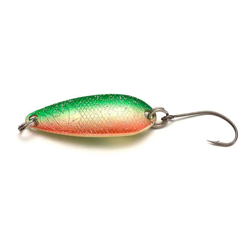 Fishgirl Pesca Isca Artificial Bait Trout Spoon 36mm 40mm Metal Fishing Lure Wobbler Spoon Lure Perch Pike Salmon Chub Hard Bait