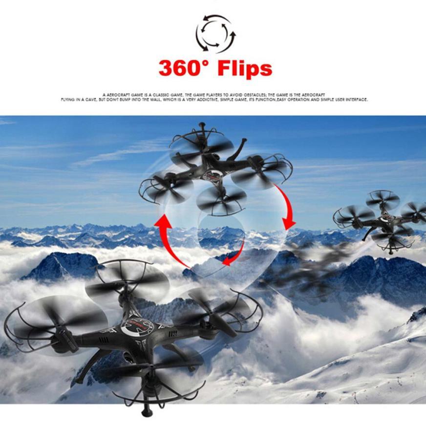 X5SW 2 4G 4CH 6 axis RC Quadcopter font b Drone b font 3D Flips Headless