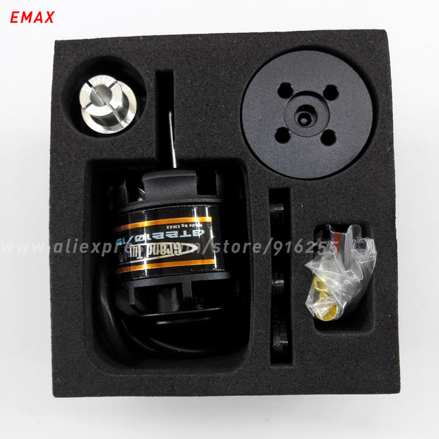 EMAX rc 1270kv 1470kv 1780kv brushless outrunner motor airplane GT 4mm shaft 2-3s for aircraft electric vehicle accessory