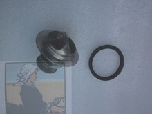 Yangdong Y380 Y385T Y480T Y485T for tractor, the thermostat with seal, part number: Y480G-11301