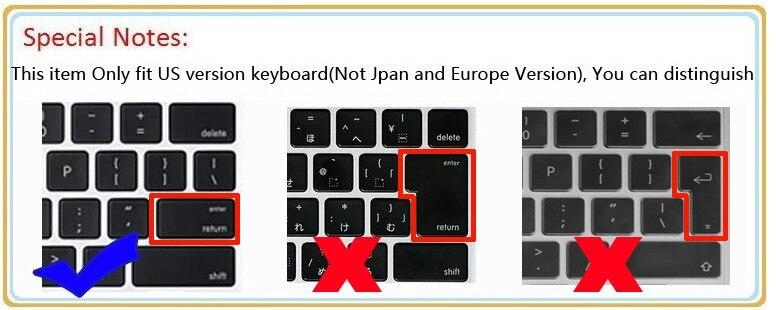 Dell Enlem üçün Tpu klaviatura örtüyünü təmizləyin 7490 7480 - Noutbuklar üçün aksesuarlar - Fotoqrafiya 3