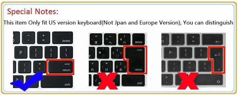 Didelio skaidrumo skaidrus Tpu klaviatūros apsaugai odai Dangteliai - Nešiojamų kompiuterių priedai - Nuotrauka 3