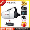 VR BOX Google Cardboard  VR Virtual Reality 3D Glasses Goggles VR Helmet VR Glasses +Bluetooth Remote Control Gamepad