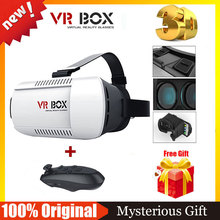 CAJA de Google Cartón VR VR VR VR Realidad Virtual Gafas 3D Gafas Casco Gafas + Control Remoto Bluetooth Gamepad
