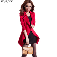 2017 Autumn Women Blazer 2 Piece Sets Dress Suit Faashion Ladies Office Suit Female Elastic Package