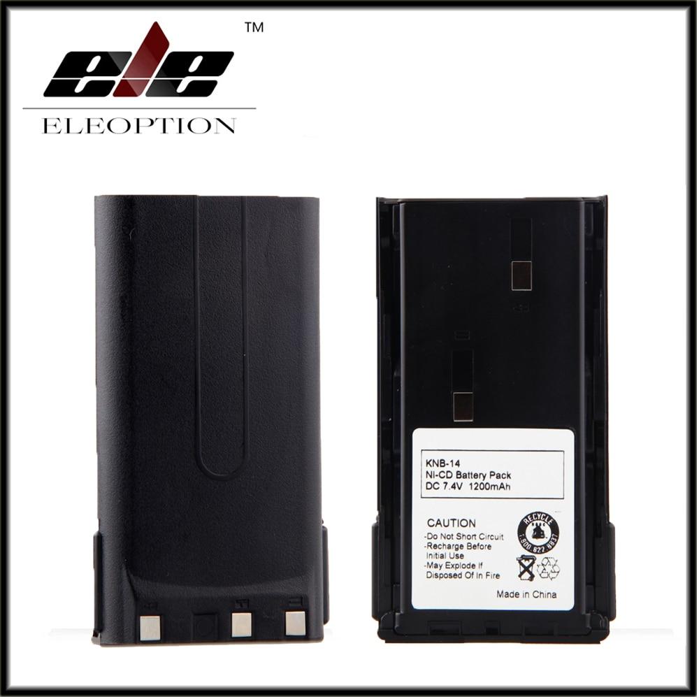 2x Eleoption 7.4V NI-CD <font><b>Battery</b></font> for <font><b>KENWOOD</b></font> KNB-14, KNB-14A, KNB-15, KNB-15A, KNB-15H, TK373, TK378, TK378G