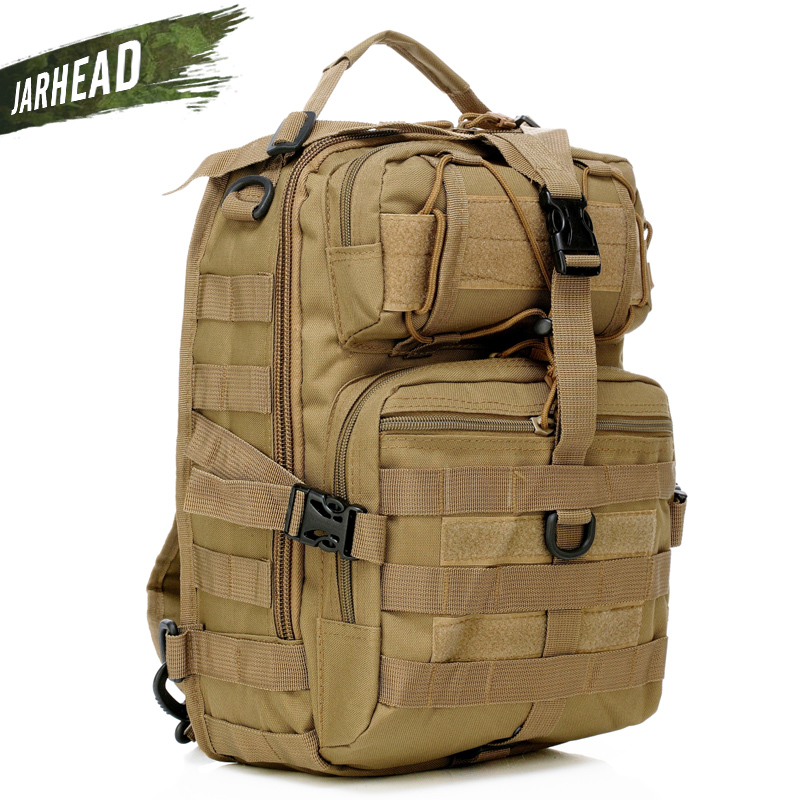 Outdoor Military Tactics Cross Bag Male Travel Hiking Riding Hunting Shoulder Bag  Diagonal Backpack Sport Saddle Bags