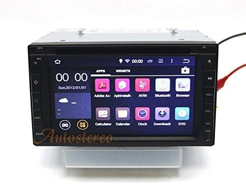 Univesal Auto Radio Android CD-Player GPS Navigation 173mm * 98mm Für Die Meisten von auto Auto unterstützt Spiegel link Muiltimedia Steuergerät