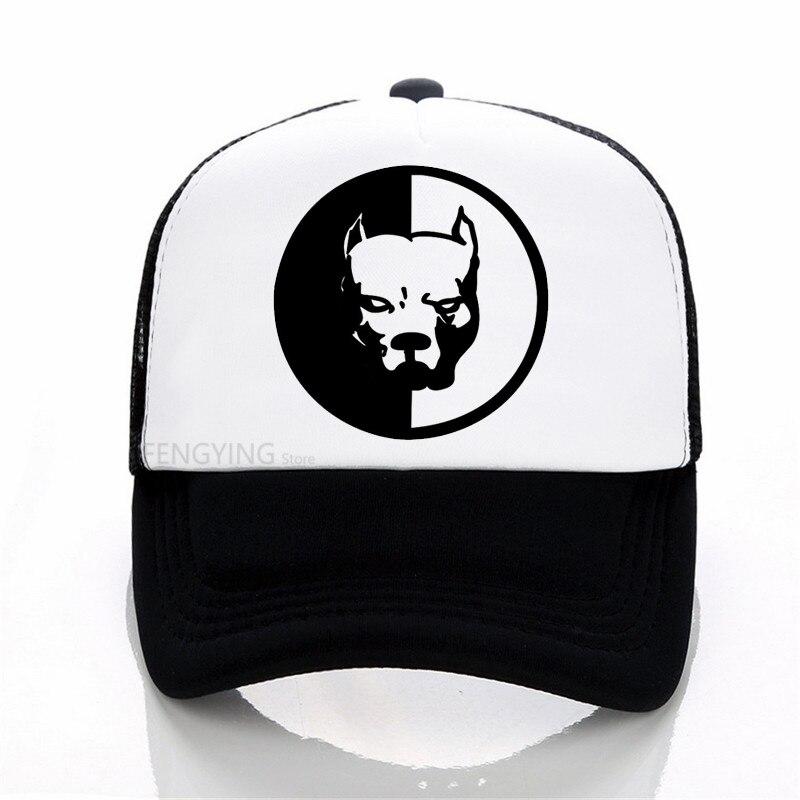 SMOTRA.RU PITBULL SYNDICATE Baseball Cap  Fashion Summer Cotton Mesh Trucker Hat