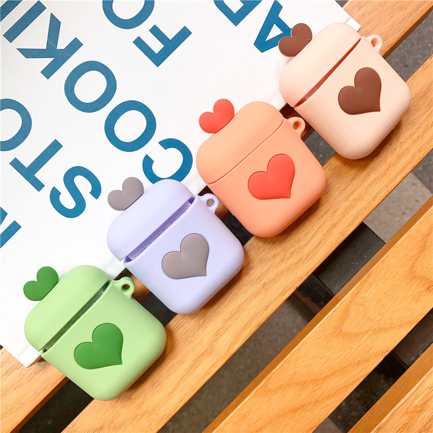 For airpods wireless earbuds headset 5.0 touch protective <font><b>case</b></font> for i10 i11 i12 i16 <font><b>i18</b></font> i19 i20 <font><b>tws</b></font> i30 w1 chip 1:1 image
