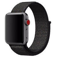 New Nylon Sport Loop With Hook And Loop Fastener Adjustable Closure Wrist Strap Replacment Band For