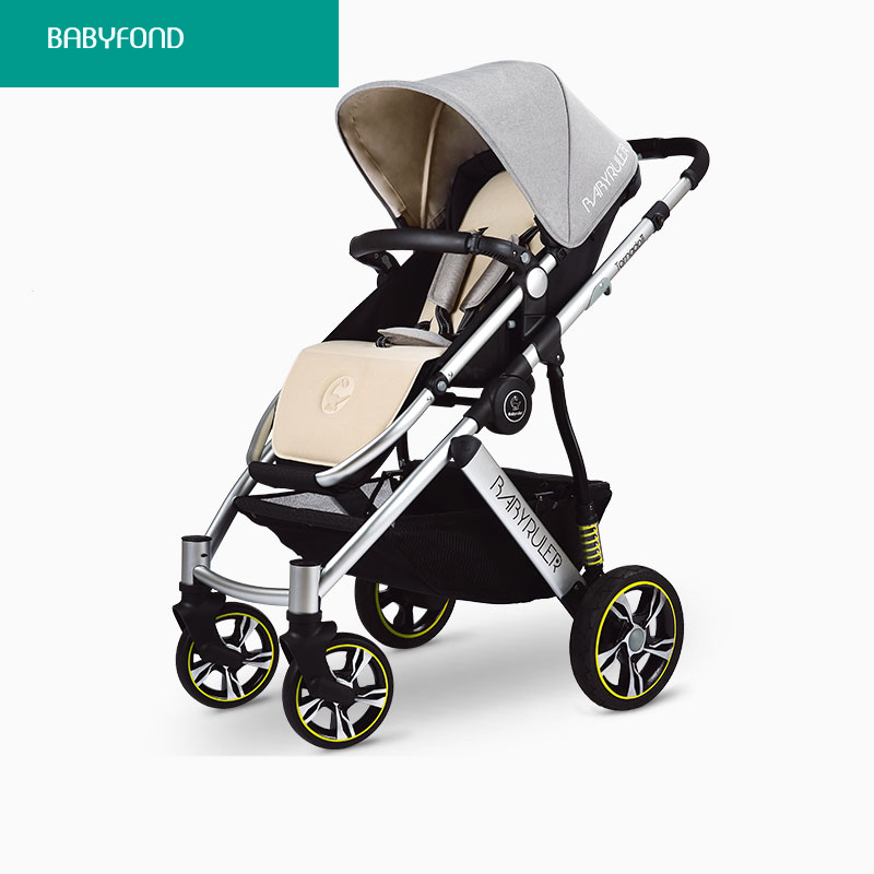 7 brand baby stroller babyruler big strollers high quality folding light baby carriage super good quality baby car baby pram купить недорого в Москве
